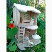 Кукольный домик из дерева. Ручная работа
