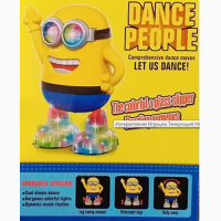 Танцующий миньон Dance People Интерактивная Игрушка Танцующий Миньон Minions Dance People