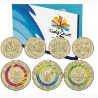 Австралия. Набор из семи монет #039;XXI игры содружества#039; (2018)