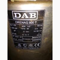 Насос погружной дренажный DAB 900T 380Вт. новый.3500грн