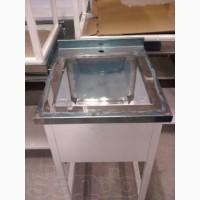 Стол производственный c нержавеющей стали, ванны моечные. В наличии