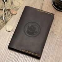 Обложка на паспорт из кожи, чехол для документов, органайзер докхолдер