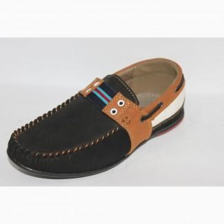 Мокасины, туфли для школьников 23см