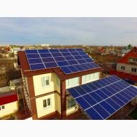 Сетевая солнечная электростанция мощностью 25 кВТ