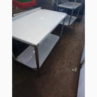 Стол производственный с полкой 1000*700*850