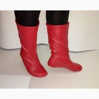 Червоні чоботи-чешки народні