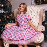Волшебное выпускное платье нарядное