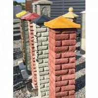 Стовпці з бетонних блоків набірних