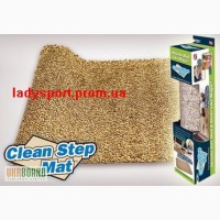 Супервсмоктуючий придверний килимок Clean Step Mat