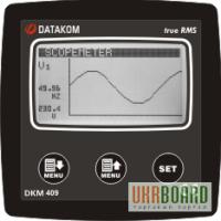 DATAKOM DKM-409 анализатор сети с осциллографом