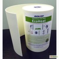 Изоляция под обои, подложка под обои Eco Heat. Теплоизоляция. Звукоизоляция