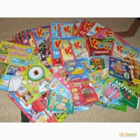 Продам колекцію дитячих журналів з аудіодисками Професор Крейд, Малятко, Котя, Пізнайко