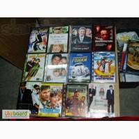 DVD диски с фильмами и аудио-диски