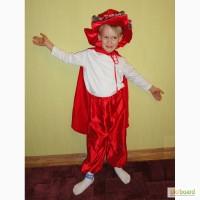 Прокат костюма Кот в сапогах на 4-7 лет