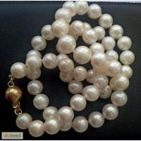 Жемчуг морской ожерелье 42 см