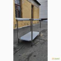Продам столы из пищевой нержавейки для кухни. Новые и бу