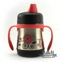 Детский поильник Thermos Poppy Patch Foogo Soft Spout Sippy Cup 0, 2L