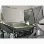 Конвейерная система для перегрузки, ополаскивания продукта