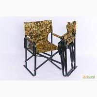 Складное кресло «Режиссер» с двумя откидными полочками