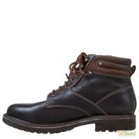 Кожаные ботинки Canguro от Freemood Италия Тёмно-коричневые