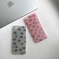 Силиконовый чехол «Звезды» для iPhone 6/6S