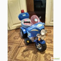 Продам б/у детский мотоцикл на аккумуляторе
