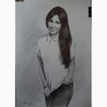 Нарисовать портрет по фотографии Одесса