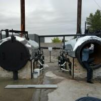 Пиролизная установка утилизации ЭПД