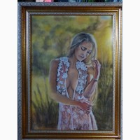 Картина автора«Под солнцем»-пастель, бумага, размер 50Х70