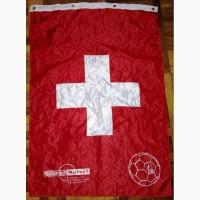 Футбольный флаг Швейцария-08