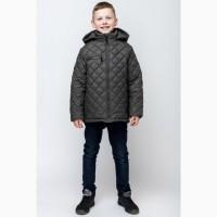Демисезонная куртка для мальчика vkm-4 122-152 р