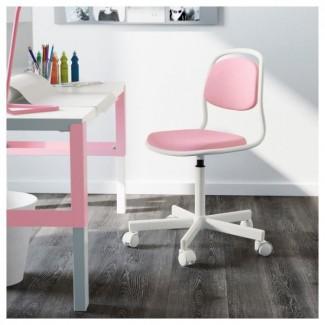Розовый стул новый