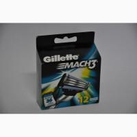 Сменные кассеты для бритья Gillette Mach 3 (12 шт)