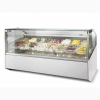Витрина для итальянского мороженого джелато ISA SUPERSHOW
