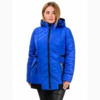 Демисезонная куртка Виктория, размеры 50-58 цвета разные-D224
