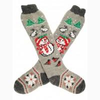 Гольфы женские Снеговик Шерстяные носки и гольфы оптом распродажа