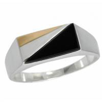 Серебряный мужской перстень