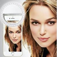 Светодиодное кольцо для селфи на батарейках для любого телефона