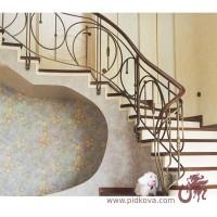 Кованые перила и ограждения для лестницы