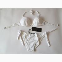 Белоснежный купальник от richmond 42 размер, xs, италия