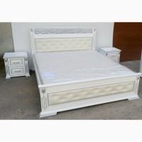 Деревянная двуспальная кровать Лорен