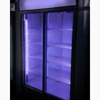 Холодильная двудверная витрина, шкаф купэ. Лучшее качество