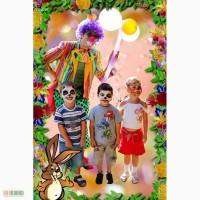 Клоун,пират,индеец на детский день рождения., Одесса