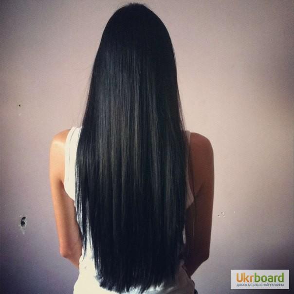 Фото девушек с длинными черными волосами со спины на