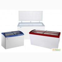 Морозильные и холодильные лари и ящики (глухие и стекло) Рассрочка