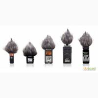 Меховая ветрозащита для Zoom H1 H2N H4N Sony D50 Tascam