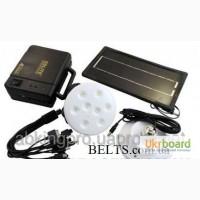 Современный набор из ламп и солнечной зарядки