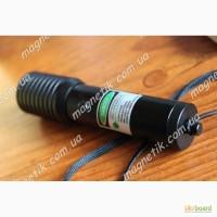 Cверхмощный прожигающий зеленый лазер 500 mW (0.5 Вт)