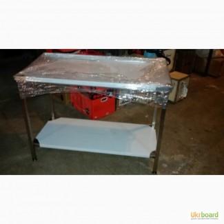 Столы и мойки из нержавеющей стали для предприятий