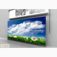 Стеклянный экран радиаторов Кривой Ро